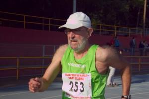 A la foto, l'atleta en la competició de la setmana passada celebrada a Sant Celoni.