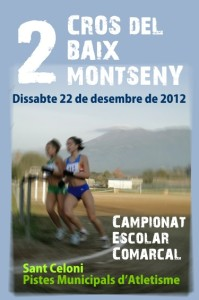 Cartell del cros d'enguany.