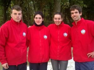 FOTO: El jove equip d'àrbitres han realitzat la seva funció correctament.
