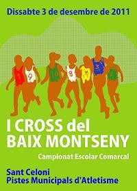 AQUEST DISSABTE EL I CROS DEL BAIX MONTSENY
