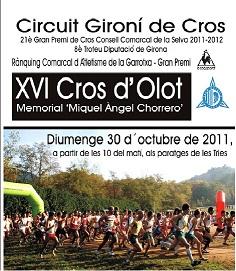 ATLETES DEL CLUB AL CROS D'OLOT