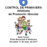 CONTROL DE PRIMAVERA