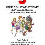 CONTROL D'ATLETISME