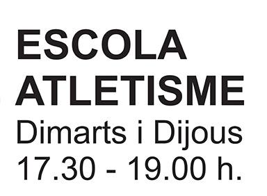 ESCOLA D'ATLETISME DEL BAIX MONTSENY