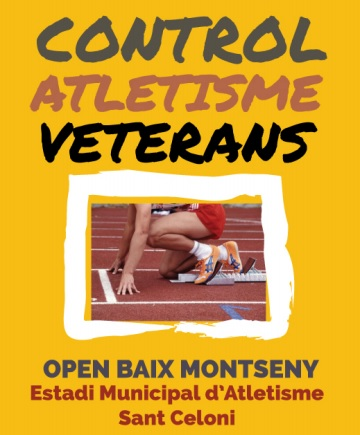 MEETING D'ATLETISME VETERÀ OPEN