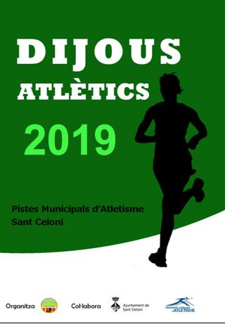 DIJOUS ATLÈTICS 2019
